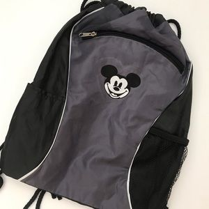 Disney Mickey Mouse drawstring sling backpack